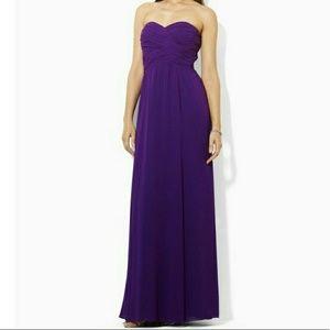 Purple Ralph Lauren Gown
